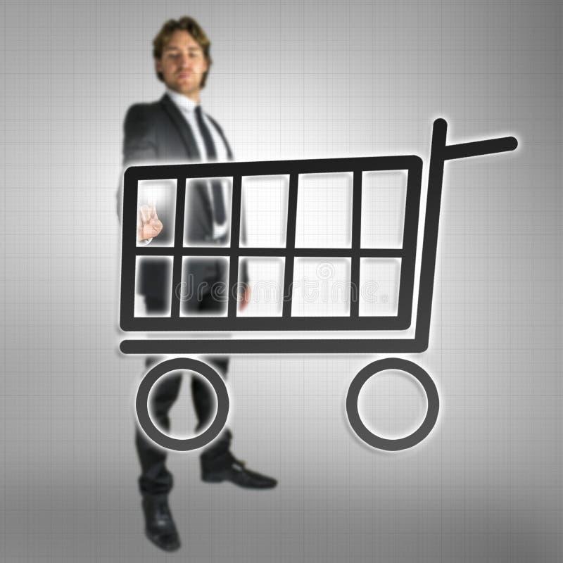 Compras en línea imagenes de archivo