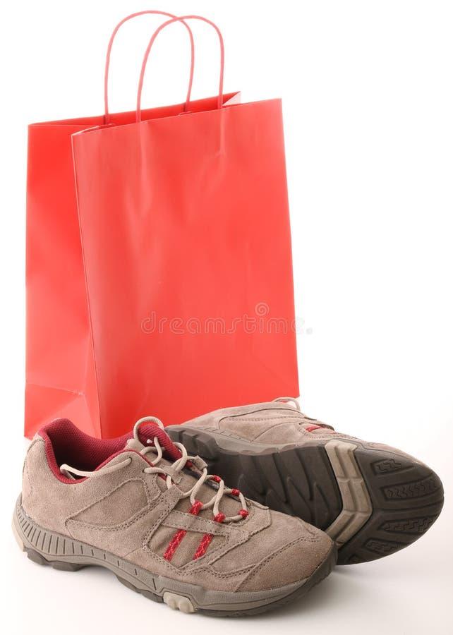 Compras, zapatos fotografía de archivo libre de regalías