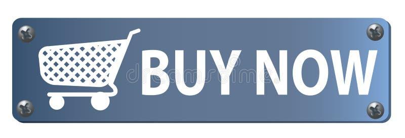 Compre agora a tecla ilustração royalty free
