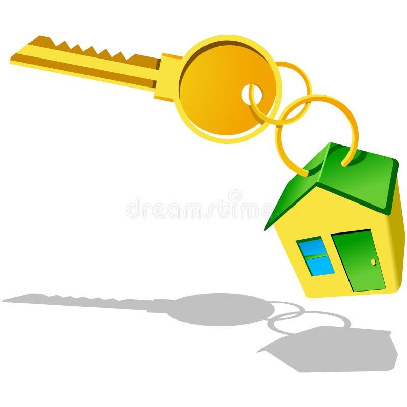 Compre a casa nova ilustração do vetor