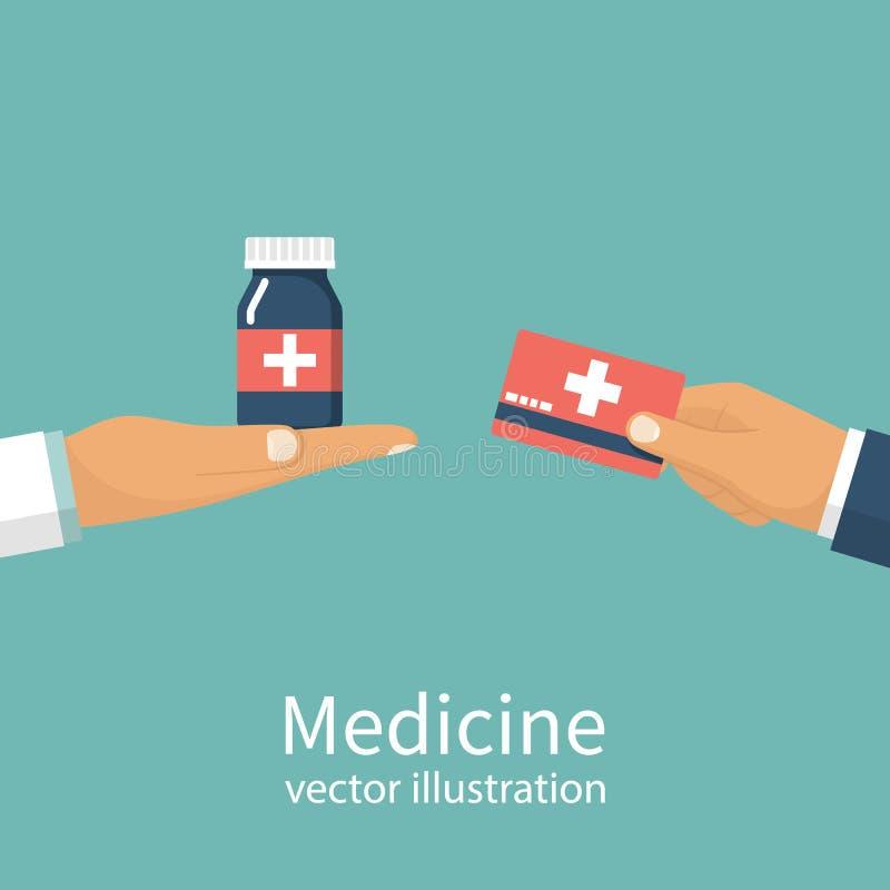 Compre la medicina Médico libre illustration