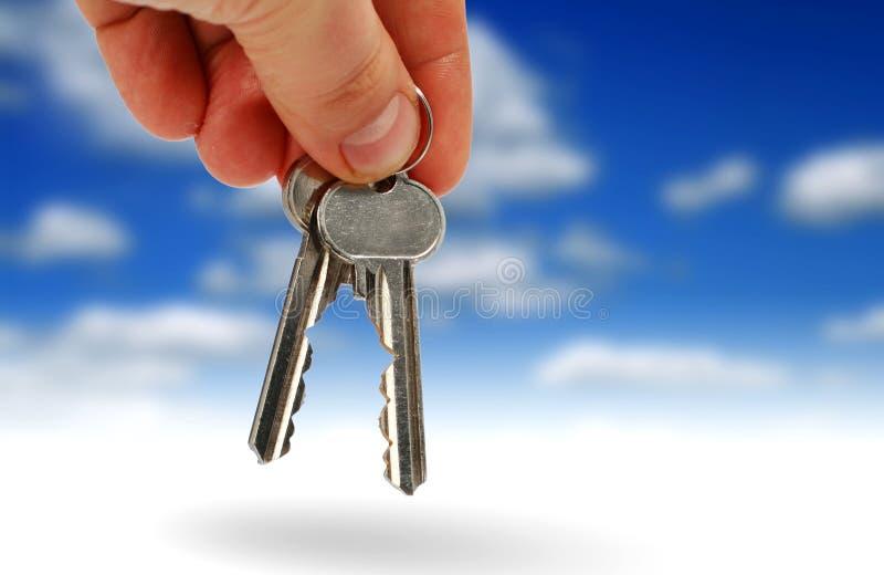 Compre las propiedades inmobiliarias. fotografía de archivo libre de regalías