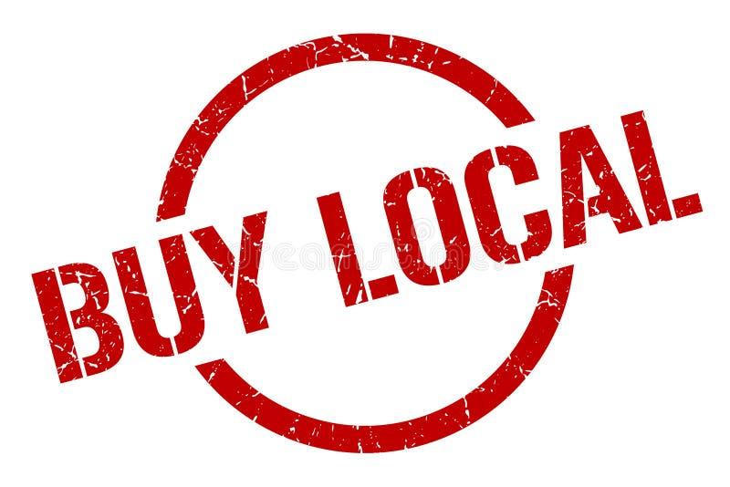 Compre o selo local ilustração stock