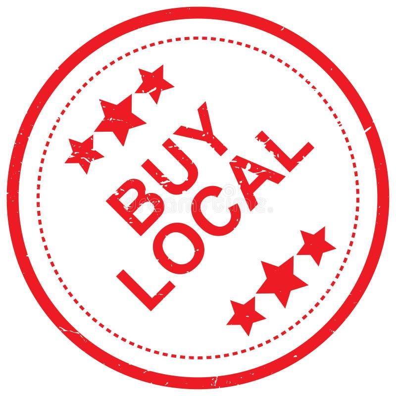 Compre o selo local ilustração royalty free