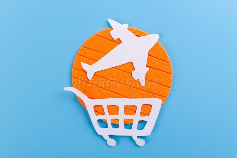 compre un concepto del aeroplano foto de archivo libre de regalías