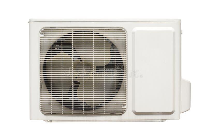 Compresor de condicionamiento al aire libre del aire imagen de archivo libre de regalías