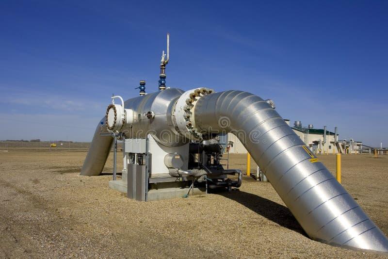 Compressão 4 do gás imagem de stock