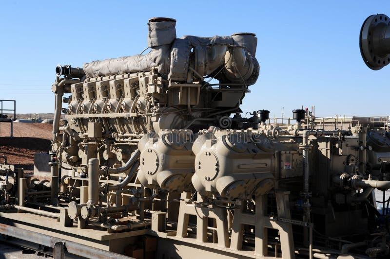 Compresseur à gaz 2 images stock