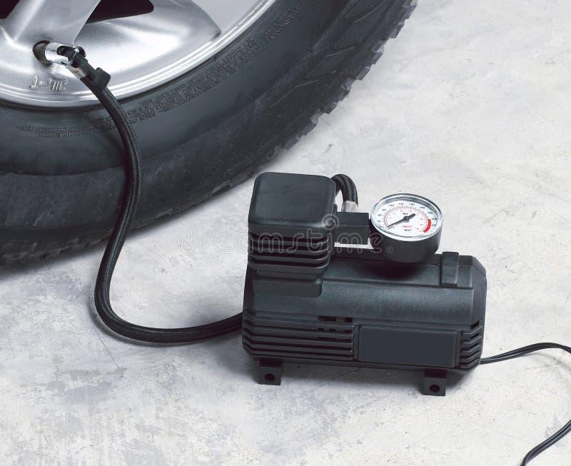 Compresseur d'air de véhicule images stock