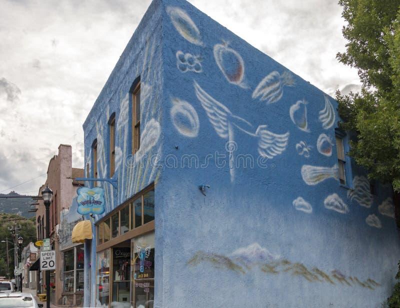 Compression merveilleuse en ressorts de Manitou, le Colorado photos libres de droits