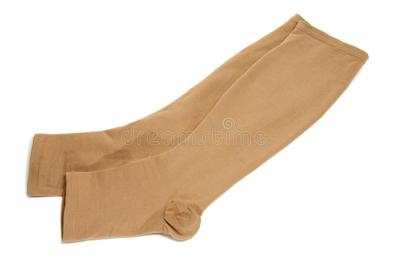 Compression stockings royalty free stock images