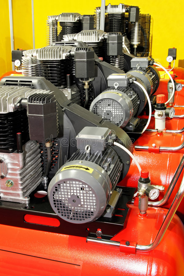 Compressori d'aria fotografia stock libera da diritti