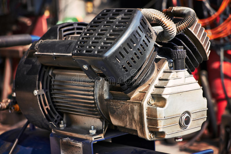 Compressormotor stock foto