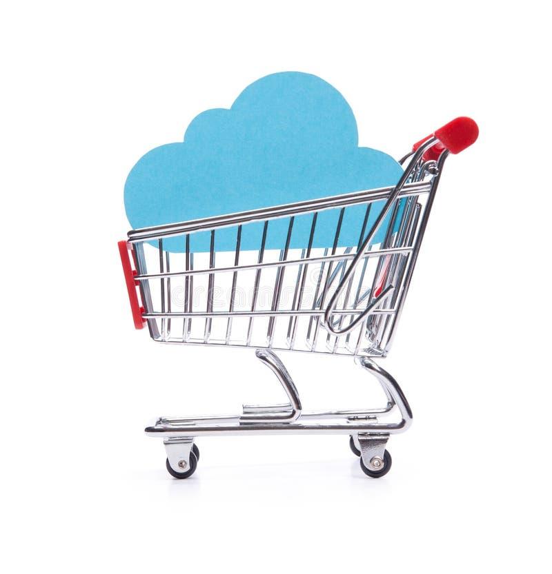 Compri il servizio di calcolo della nube fotografia stock