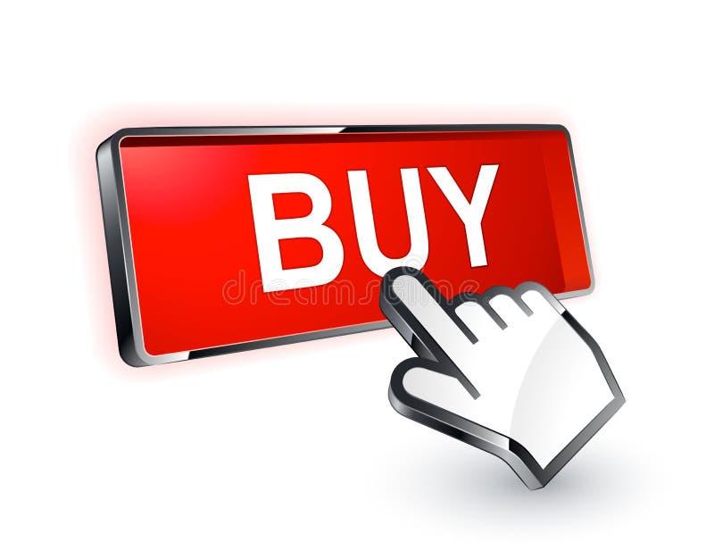 Compri il tasto illustrazione di stock
