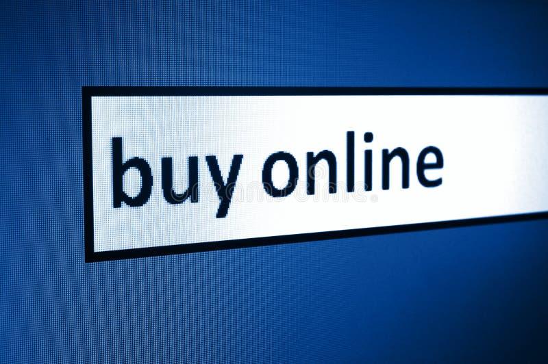 Compri in linea immagine stock libera da diritti