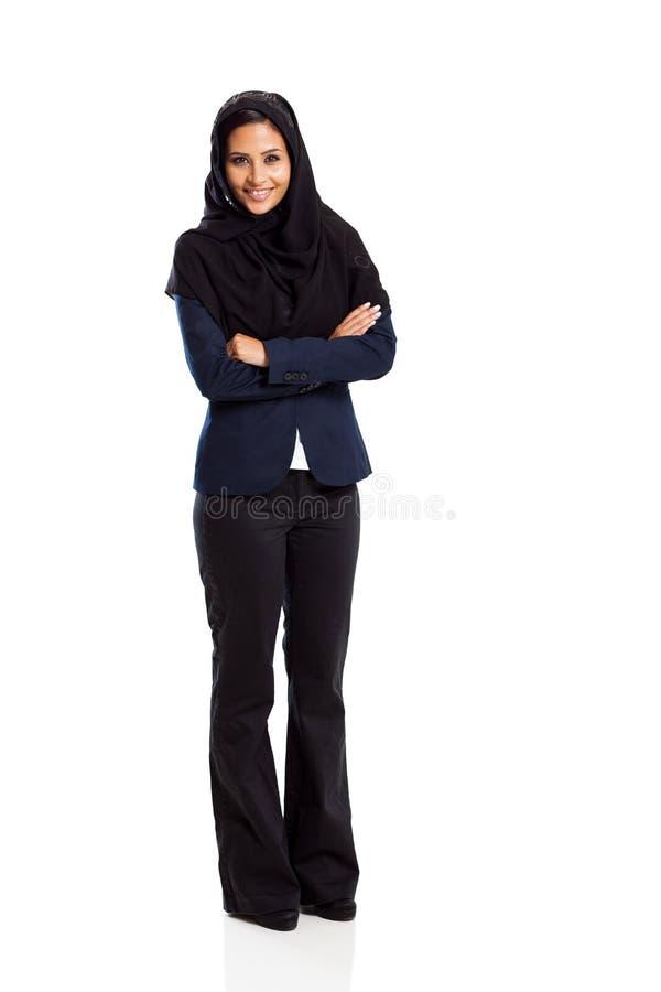 Mulher de negócios do Oriente Médio foto de stock