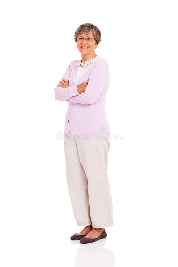 Comprimento completo da mulher superior fotos de stock