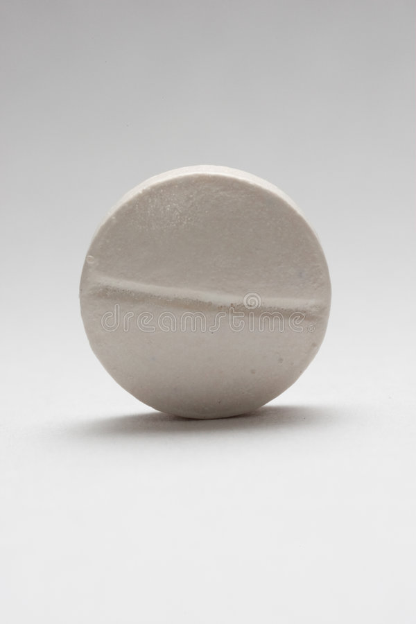 Comprimido branco imagens de stock