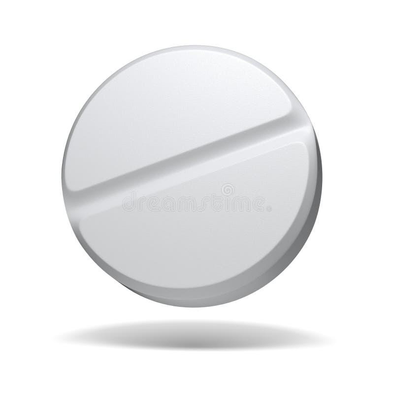 Comprimido médico ilustração do vetor