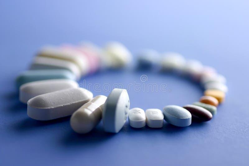 Download Comprimidos imagem de stock. Imagem de droga, medicinal - 110819