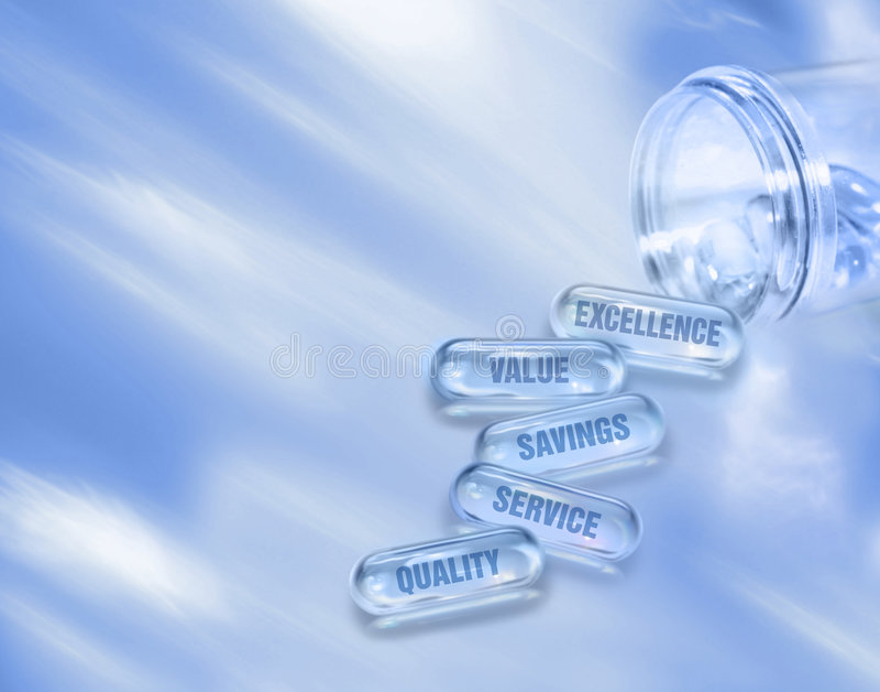 Comprimidos da cápsula imagens de stock royalty free