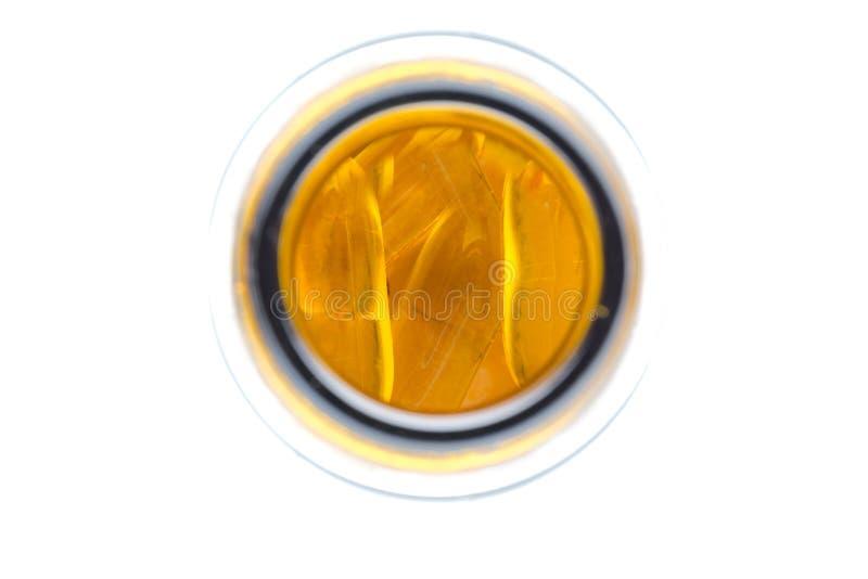 Comprimidos do óleo de peixes imagens de stock royalty free