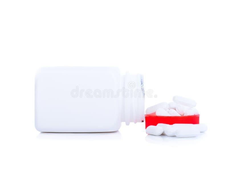 Comprimidos do paracetamol foto de stock