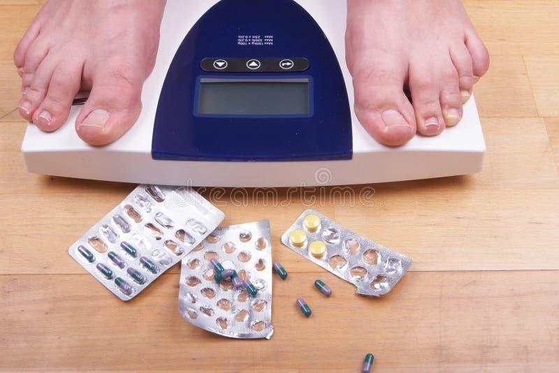 Comprimidos para slimming fotos de stock