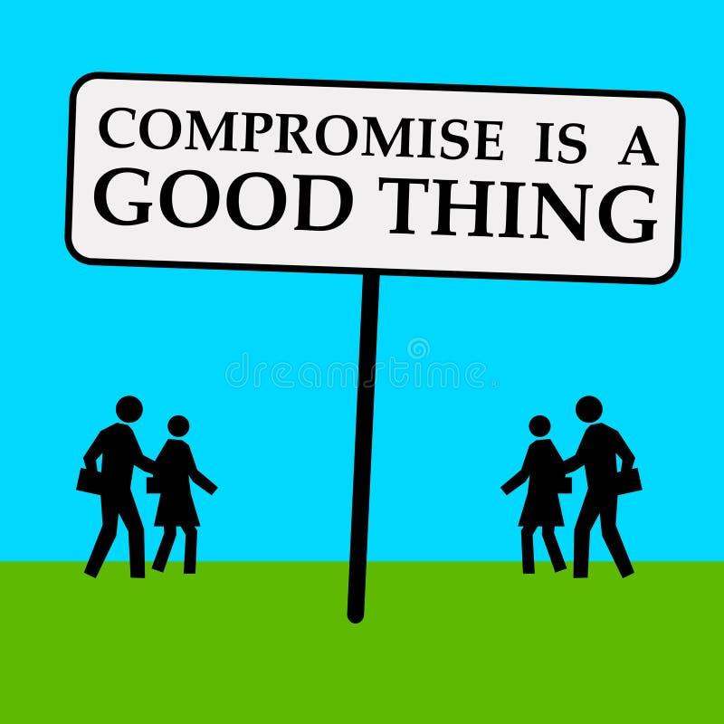 compromise stock illustration image of agree argument