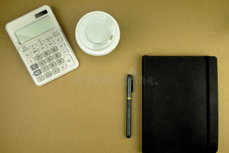 Comptable plat de toosl de configuration, l'espace de fonctionnement pour le comptable, topvi photos libres de droits