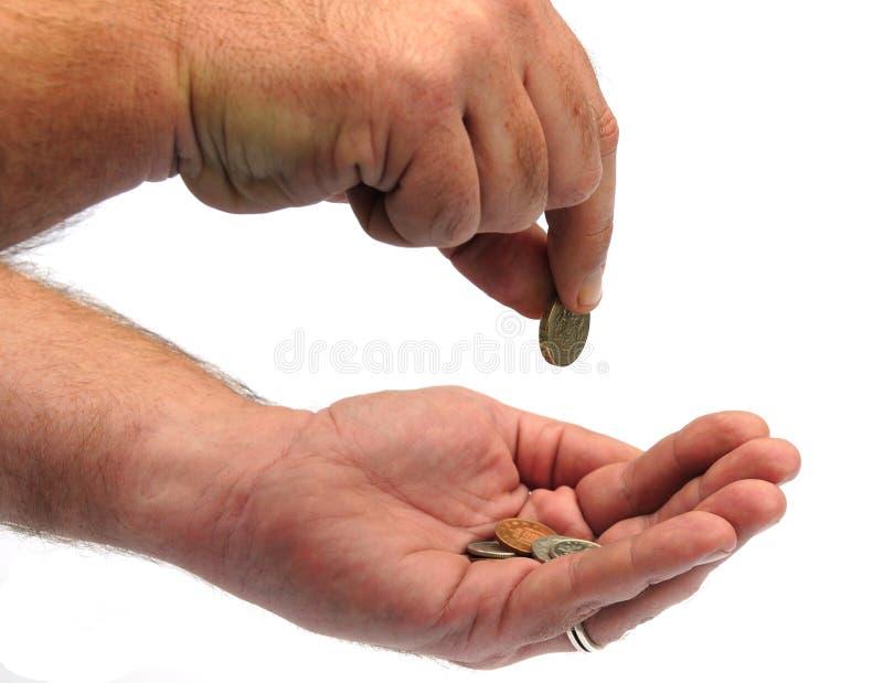 Compte des penny photo libre de droits