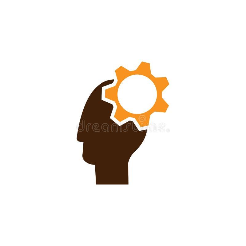 Compte, icône de conseiller Élément d'icône d'optimisation de Web pour des applis mobiles de concept et de Web La description dét illustration libre de droits
