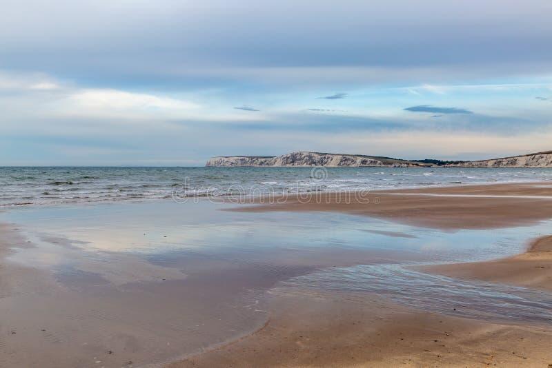 Compton κόλπος, Isle of Wight στοκ φωτογραφία με δικαίωμα ελεύθερης χρήσης