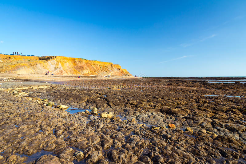 Compton κόλπος Isle of Wight στοκ εικόνα
