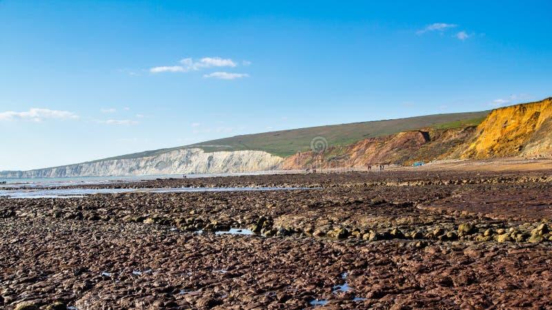 Compton κόλπος Isle of Wight στοκ φωτογραφίες με δικαίωμα ελεύθερης χρήσης
