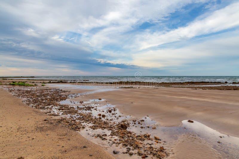 Compton παραλία κόλπων, το Isle of Wight στοκ εικόνα