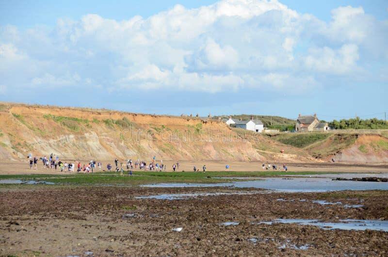 Compton παραλία, Isle of Wight στοκ φωτογραφίες με δικαίωμα ελεύθερης χρήσης