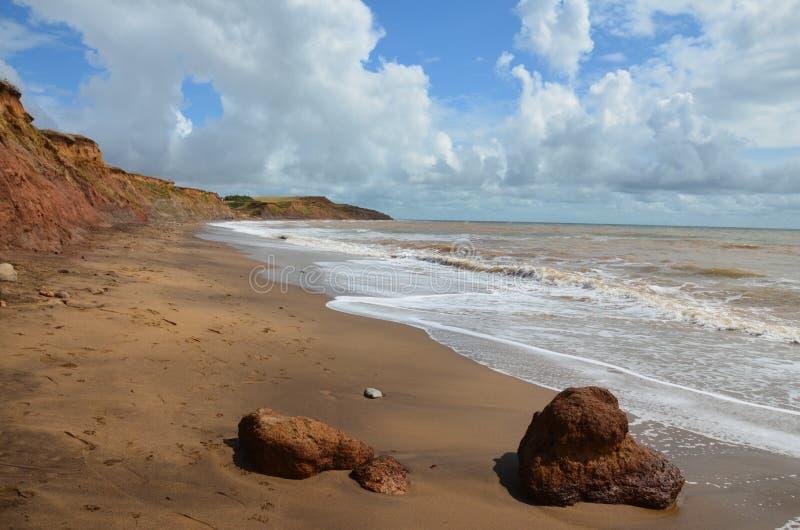Compton παραλία, Isle of Wight στοκ εικόνα