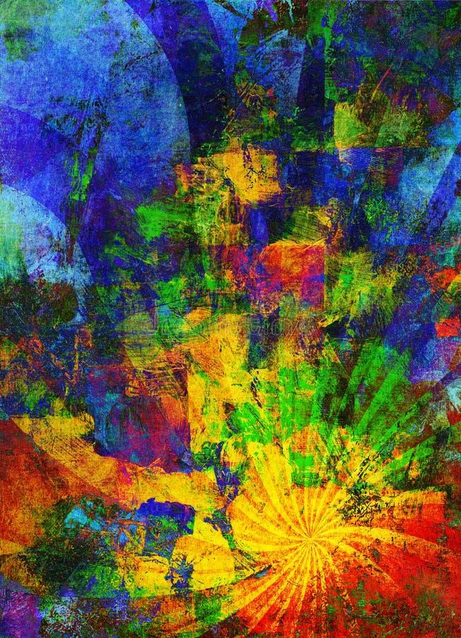 Compuesto abstracto del fondo libre illustration