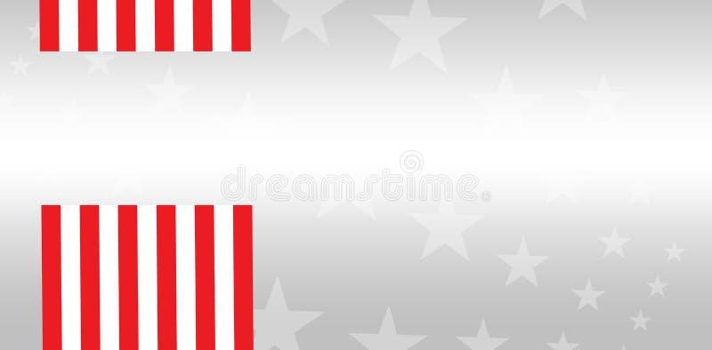Compuesto de Digitaces de la bandera americana libre illustration