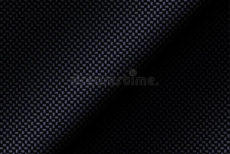 Compuesto de la fibra de carbono ilustración del vector