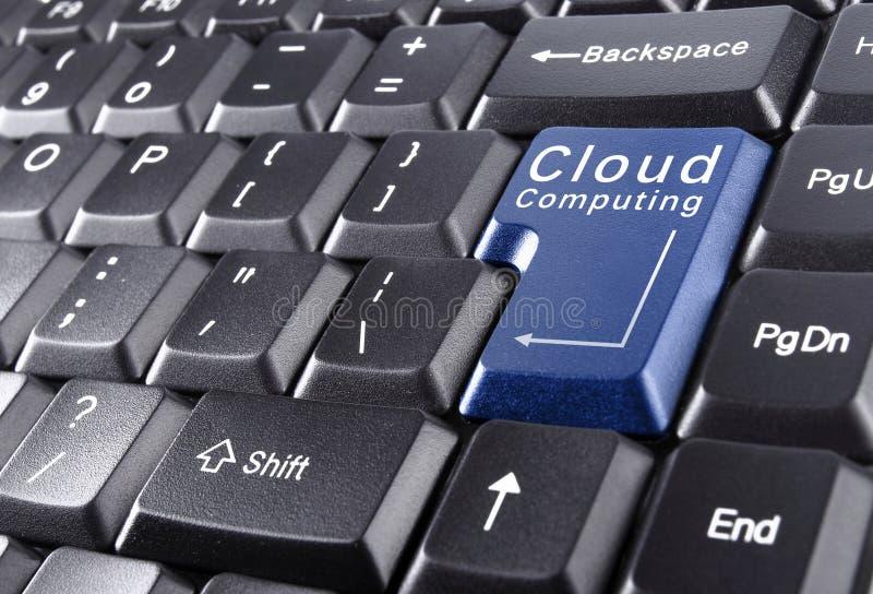 Computação da nuvem imagens de stock