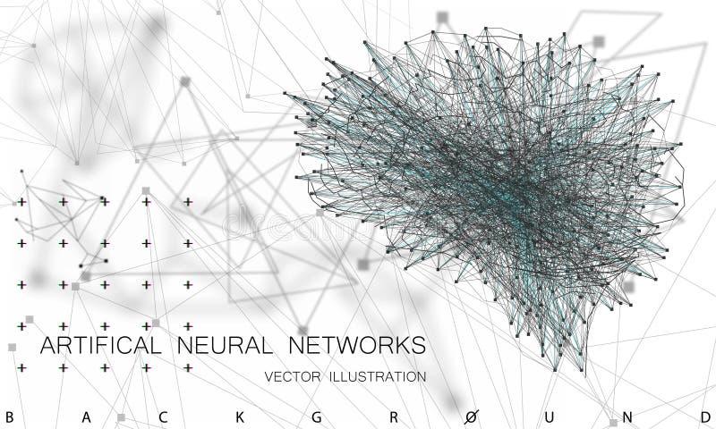 Computação de quantum ilustração stock