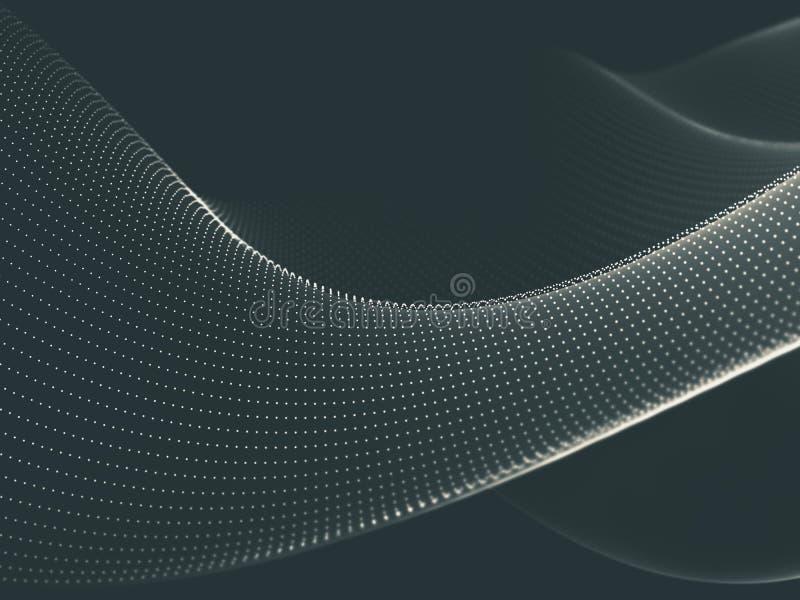 Computación abstracta de la nube del fondo libre illustration