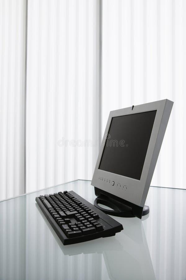 Computador. fotografia de stock royalty free