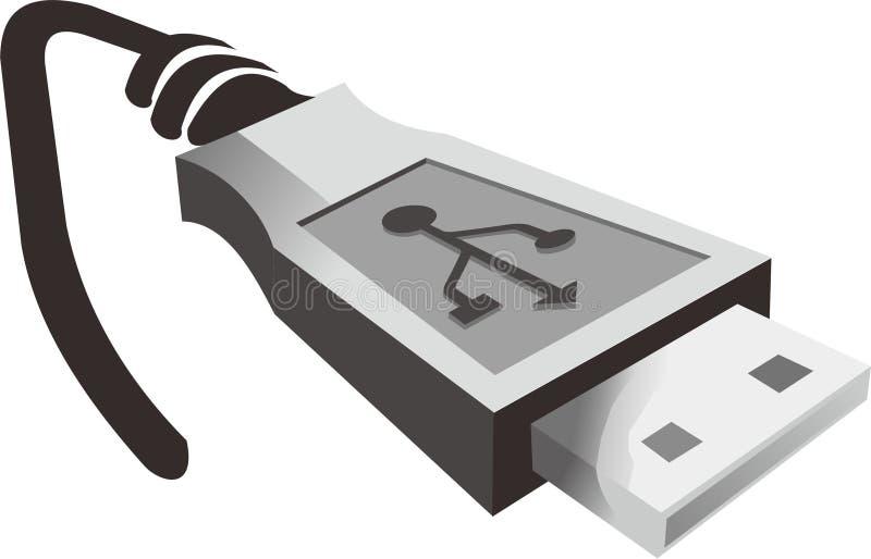 Computador ilustração royalty free