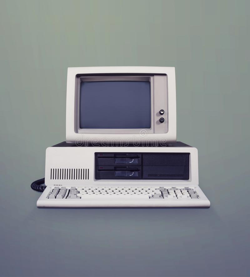 Computador do DOS imagem de stock royalty free