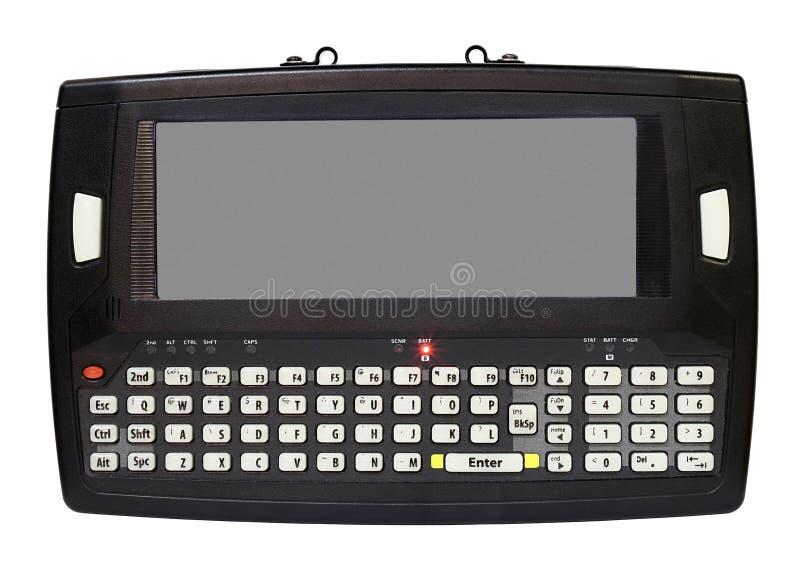 Computador do portátil da tabuleta mini imagem de stock