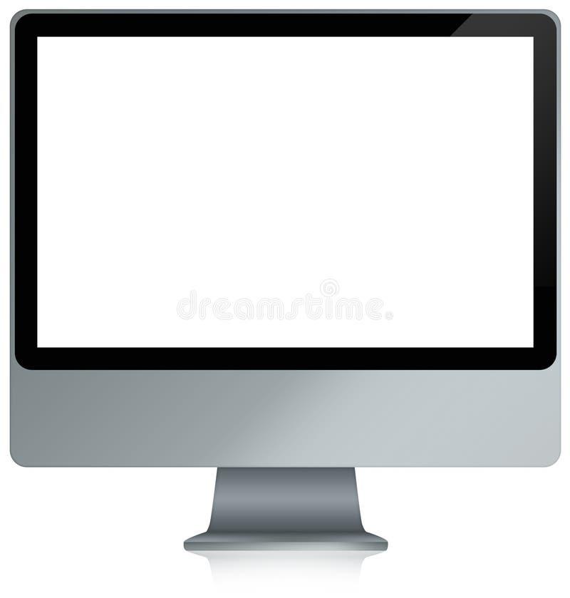 Computador em branco completo